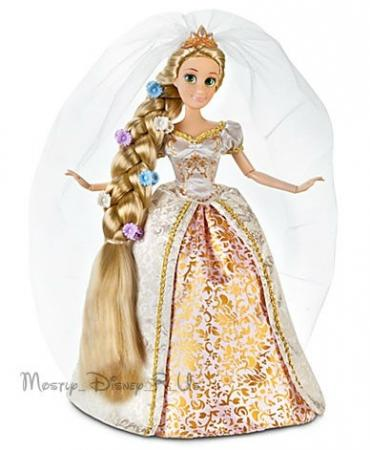 rapunzel tangled ever after wedding doll 12quot disney store