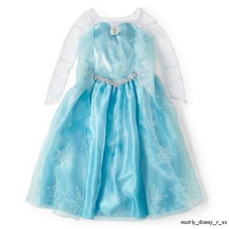 disney elsa frozen dress