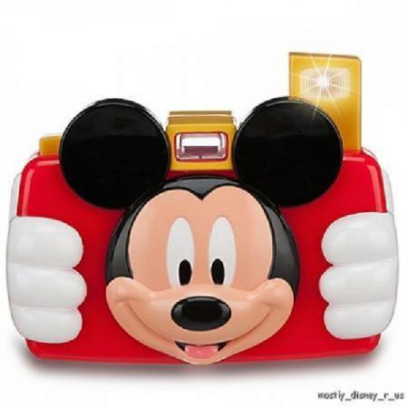 Disney store talking mickey mouse club house toy digital camera realistic flash ebay - Disney store mickey mouse ...