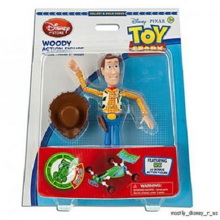 Details about NEW Disney Store Toy Story Woody Action Figure W/ Build ...