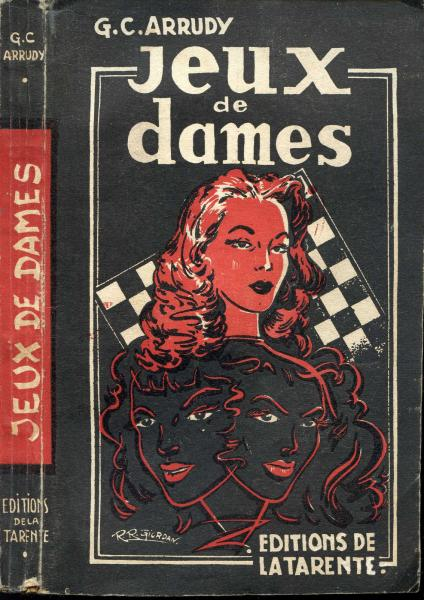 g c arrudy jeux de dames ditions de la tarente 1951 ebay. Black Bedroom Furniture Sets. Home Design Ideas