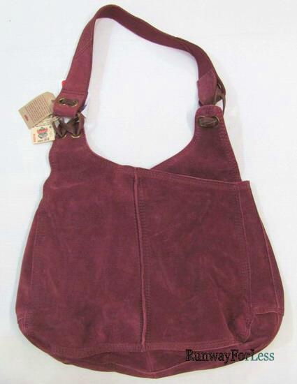 Lucky Brand HKRUD482 Suede Leather Handbag Purse $168