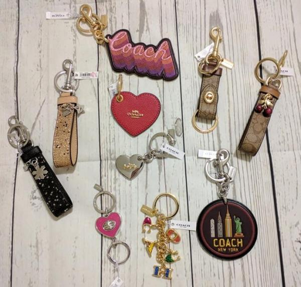 89a0b19f Details about New Coach Key Chain Ring Fob Keychain Keyring Drawstring Bag  New Choices Style