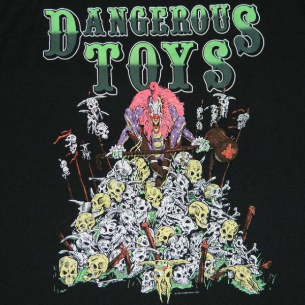 VTG DANGEROUS TOYS NOS TOUR T-SHIRT MINT guns n roses L