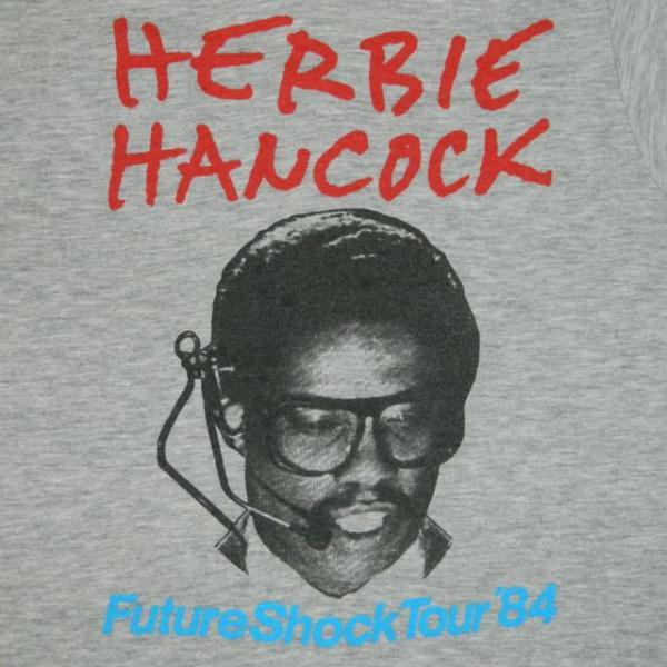 1984 Herbie Hancock Vtg Tour T Shirt Hip Hop Rockit Ice