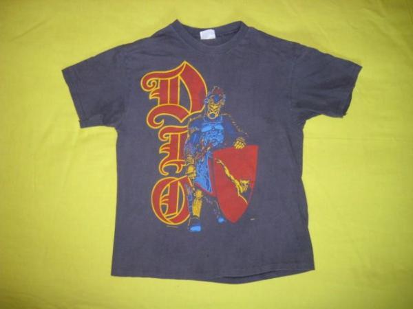 Vintage DIO 1986 T SHIRT concert tour black sabbath 80s