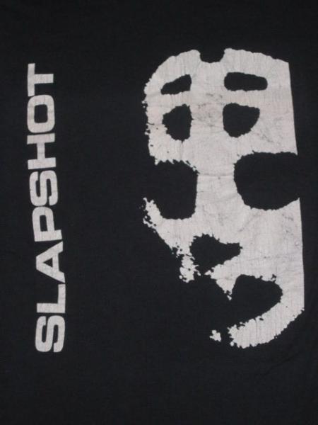 Vtg Slapshot 80s T Shirt Boston Hardcore sXe DYS SSD OG