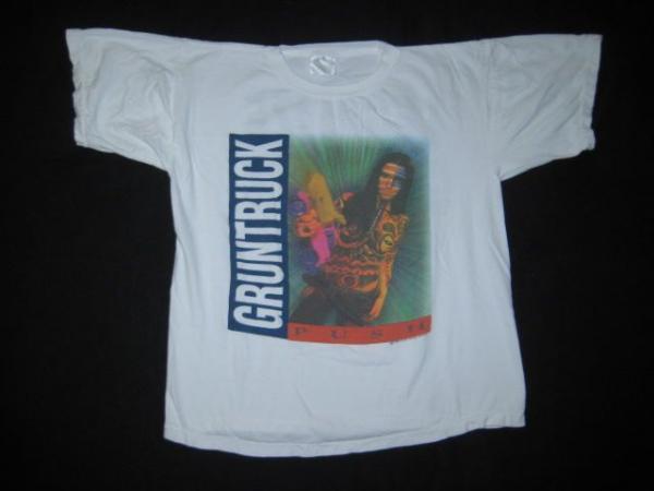 Vtg GRUNTRUCK 1992 TOUR T SHIRT the accused soundgarden