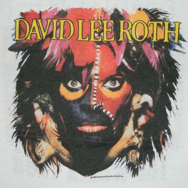 1986 David Lee Roth Vtg Concert T Shirt Eat Em and Smile Tour Van