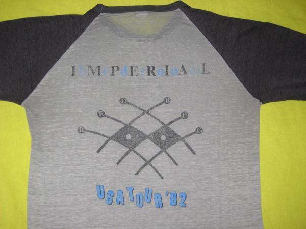 1982 Elvis Costello Vtg Tour Jersey Burnout T Shirt
