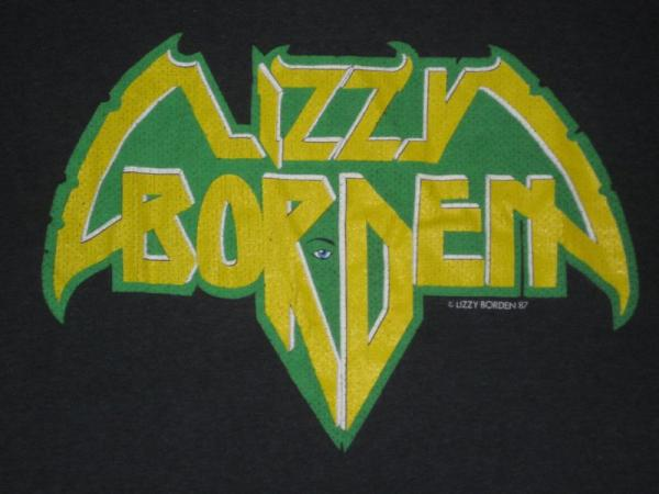 1987 Lizzy Borden Vtg Tour T Shirt Wasp Motley Crue OG