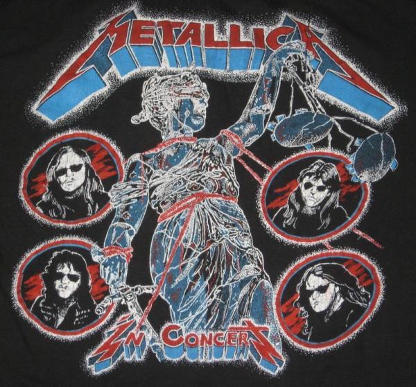 Damaged Justice Tour  T Shirt