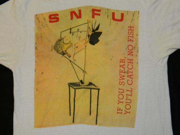 SNFU - If You Swear, You'll Catch No Fish