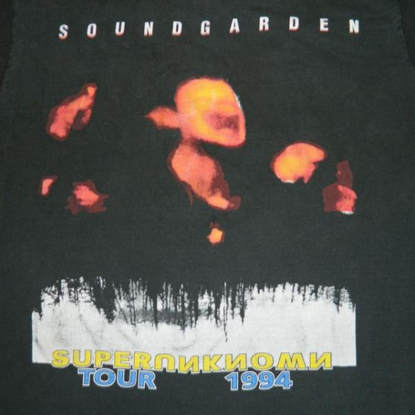 Free And For Sale >> VTG SOUNDGARDEN 1994 SUPERUNKNOWN TOUR T-SHIRT 90S GRUNGE