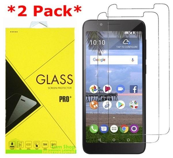 Details about 2X Tempered Glass Screen Protector For Alcatel 1X  Evolve/IdealXTRA/TCL LX A502DL