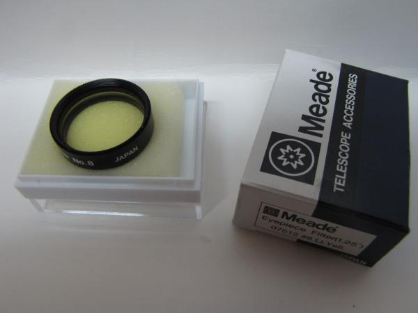 1 25 Quot Meade Lt Yellow 8 Telescope Eyepiece Filter Series
