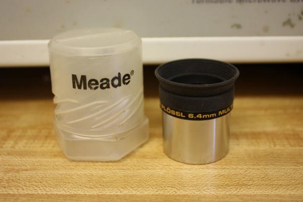 Meade 6 4mm 1 25 Quot Super Plossl Telescope Eyepiece 4000