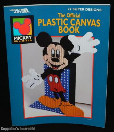 Free Stuff: mickey mouse plastic canvas pattern E-Mail - Listia