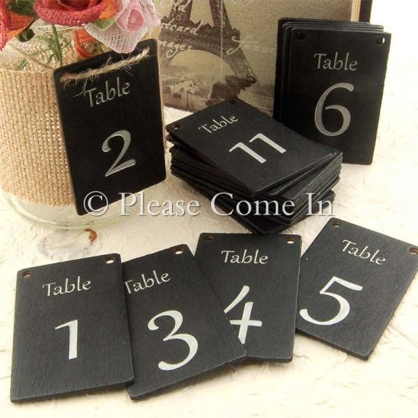 chalkboard table numbers ~ mason jar centerpiece blackboardchalkboard wedding table