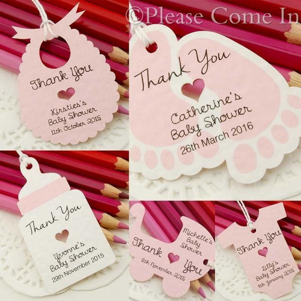 baby shower christening favour tags thank you tags gift tags