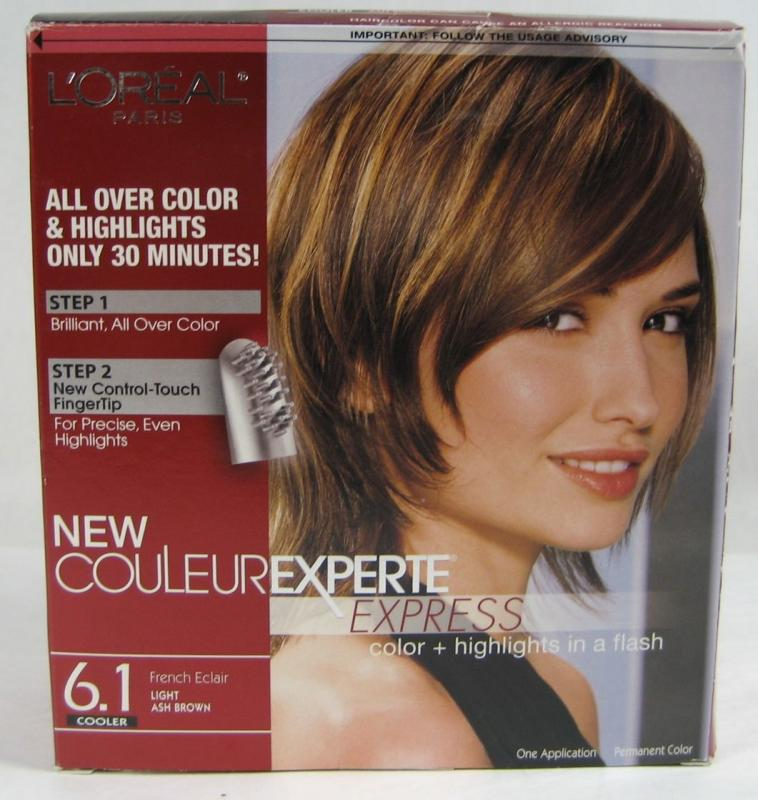 Loreal New Couleur Experte Express 6 1 Light Ash Brown Hair Color