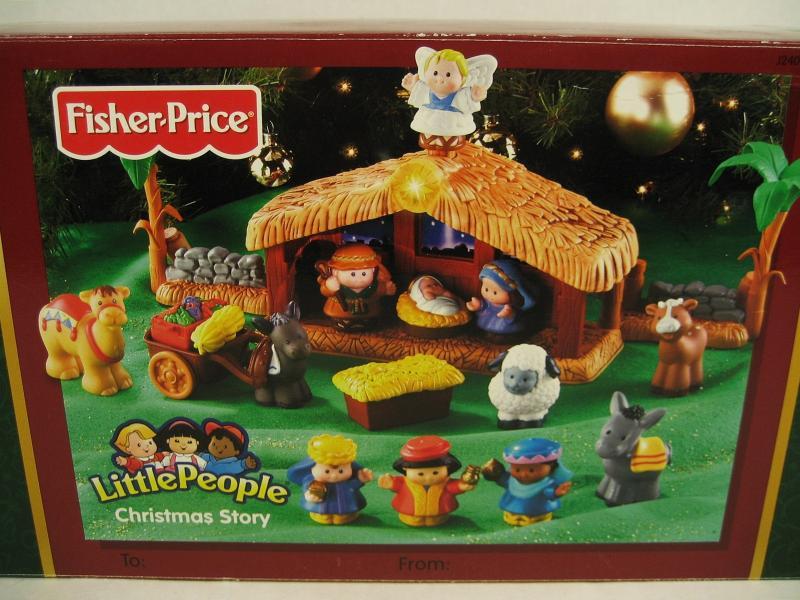 Fisher Price Little People Christmas Story Nativity Scene 18 Piece Set