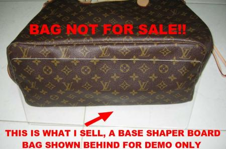 d7cc3c65934a Clear Base Shaper Liner 4 LV Louis Vuitton Neverfull PM on PopScreen