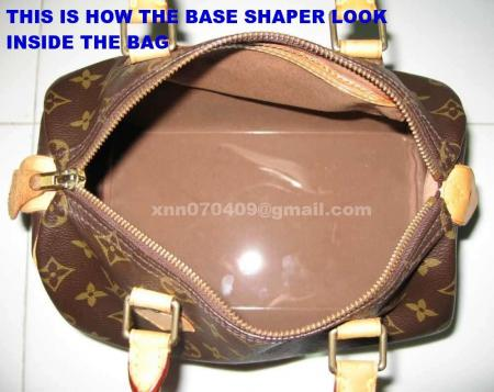 fe04e03f81fc Clear Acrylic Base Shaper Board that fit the Louis Vuitton Speedy 30 ...