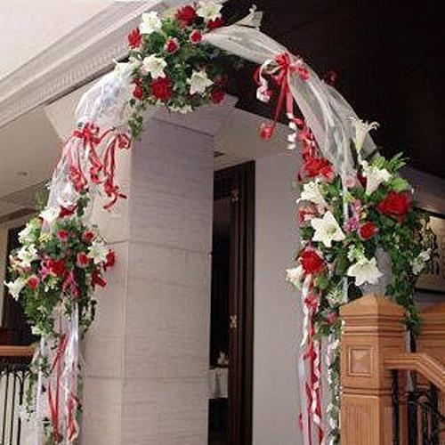 Arch Wedding Rental: WHITE WEDDING ARCH IN/OUT DOOR PARTY BIRTHDAY SHOWER 90