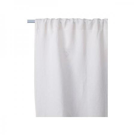 ikea birgit ljuv window curtains 39x98 linen embroider
