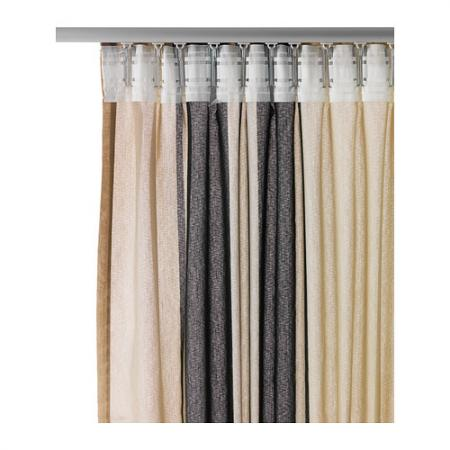 IKEA BJORNLOKA LINJE Window Curtains 57 X 98 White