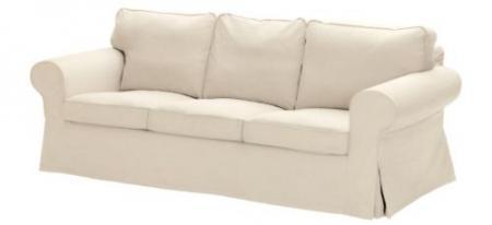 Brand New Ikea Ektorp 3 Seats Sofa Cover Blue White Lilac Black Beige Brown Gray Ebay