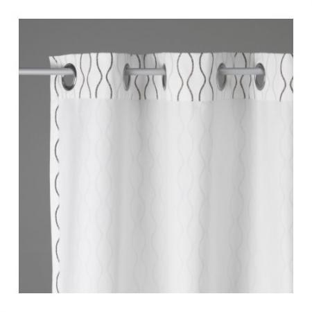 Brand New Ikea Henny Rand 2 Panels Window Curtains 57x98