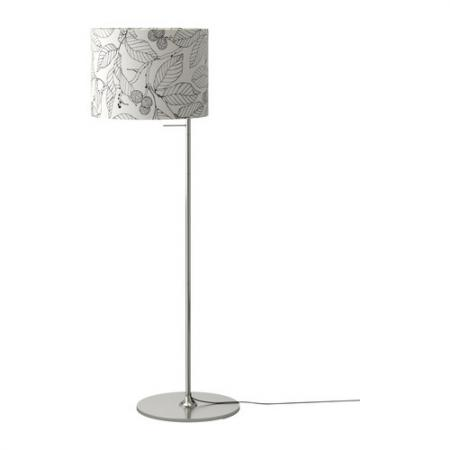 Ikea Stockholm Floor Reading Lamp Light Nickel Aluminum Ebay