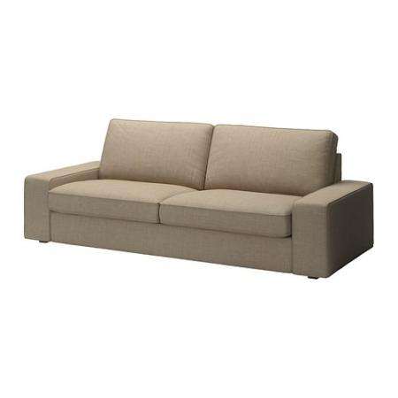 New ikea kivik sofa cover isunda beige discontinued 702 for Ikea sofa slipcovers discontinued