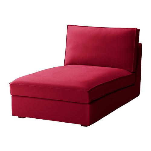 NEW IKEA KIVIK Chaise Lounge Cover Ingebo Bright Red Discontinued