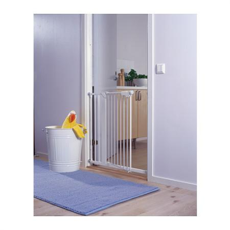 new ikea patrull klamma children pet safety gate white. Black Bedroom Furniture Sets. Home Design Ideas