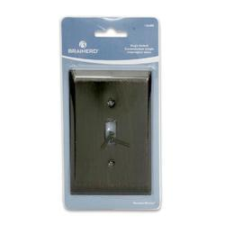 details about brainerd single light switch wall plate cover venetian. Black Bedroom Furniture Sets. Home Design Ideas