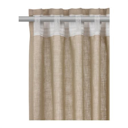 How do you hang tab top curtains?on what type of pole/rail?