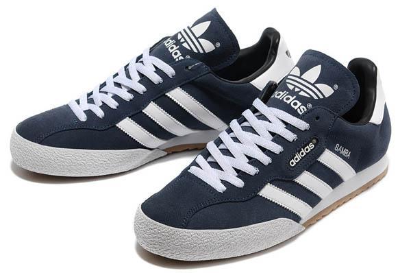 adidas samba bleu homme