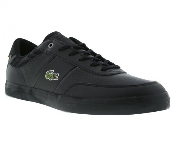 064b43aa870823 Lacoste Court Master 4171FLE Cam Black Mens Trainer Shoe Size 7.5 ...