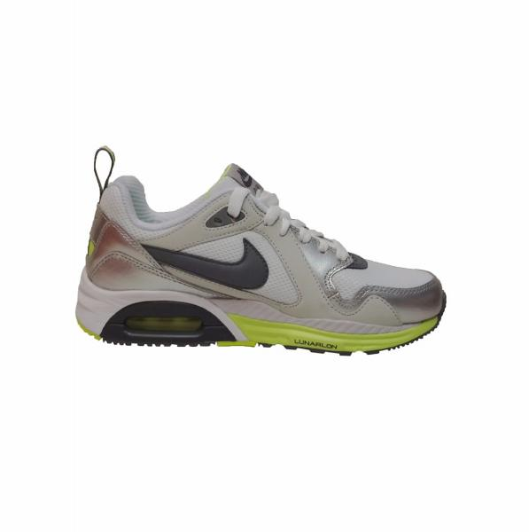 Details about NIKE AIR MAX TRAX RUNNING TRAINERS SHOE UK SIZE 5.5 6 WHITE GREYS RRP £100
