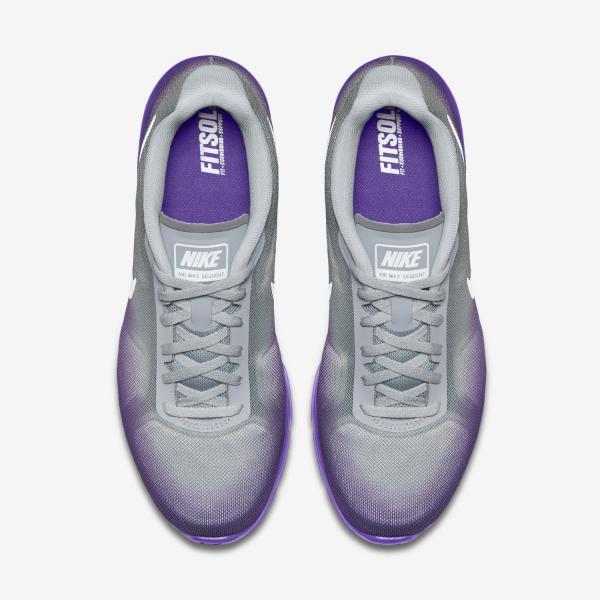 Details zu Womens Nike Air Max Sequent Running Shoe Size 5 7 Purple Grey Night Factor