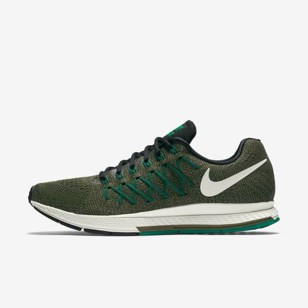 Dettagli su Nike Air Zoom Pegasus 32 da uomo corsa Scarpe allenamento Khaki MISURA 7 11