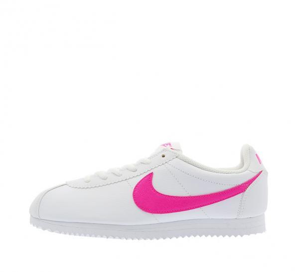 Détails sur Nike Cortez Filles Baskets Rose Blanc Explosion UK Taille 5.5 Neuf