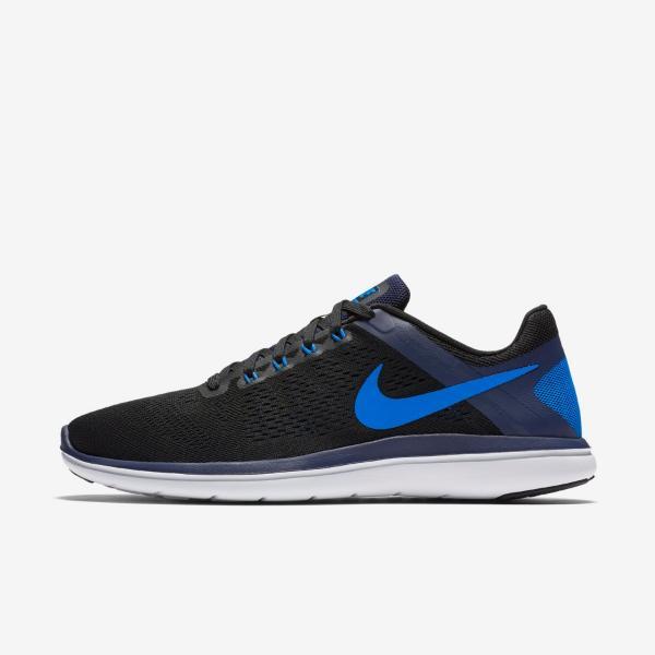 Details about Nike Flex 2016 2016 RN Mens Running shoe Trainer Size 7.5 8.5 9 Black New Run