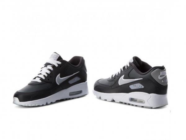 Dettagli su Nike Air Max 90 Mesh Bambini Bambine Misura 5 5.5 6 Scarpe da Allenamento Run