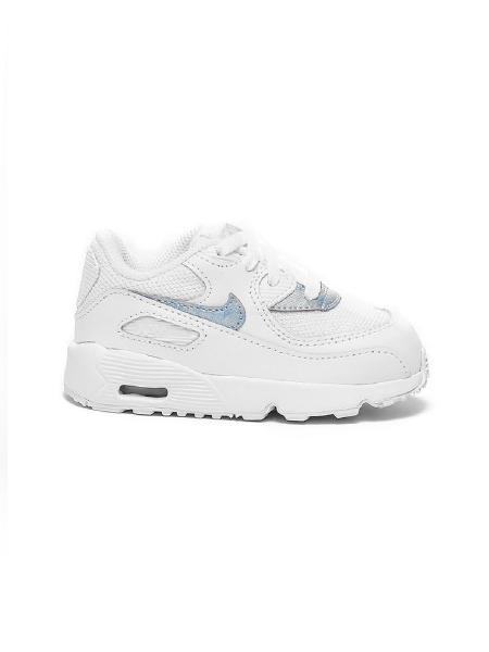 586c02ee1e9b6 Nike Air Max 90 Tout-Petit Baskets Taille 4.5 6.5 8.5 9.5 Série