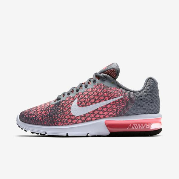 3ffe1fb59198 Nike Air Max Sequent 2 Womens Running Trainer shoe Size 4.5 - 6 Grey ...