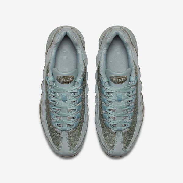 Détails sur Nike Air Max 95 Garçons Filles de Course Tennis Taille 6 Clair Ponce